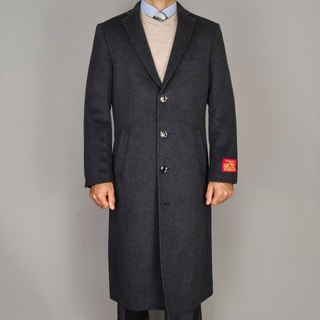 Mantoni Men's Wool and Cashmere Topcoat