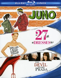 Chick Flick 3 Pack- Juno, 27 Dresses & Devil Wears Prada (Blu-ray Disc)