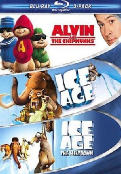Family 3 Pack-Alvin, Ice Age & Ice Age The Meltdown (Blu-ray Disc)