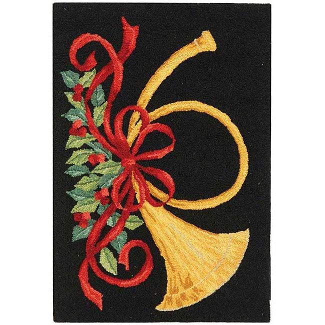 Safavieh handmade holiday season wool rug