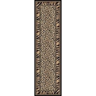 Virginia Leopard Area Rug (2'2 x 7'7)