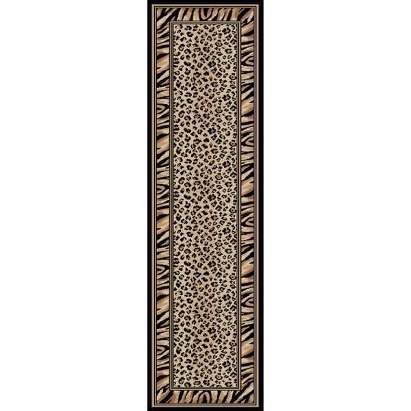 Virginia Leopard Area Rug (2'2 x 7'7)
