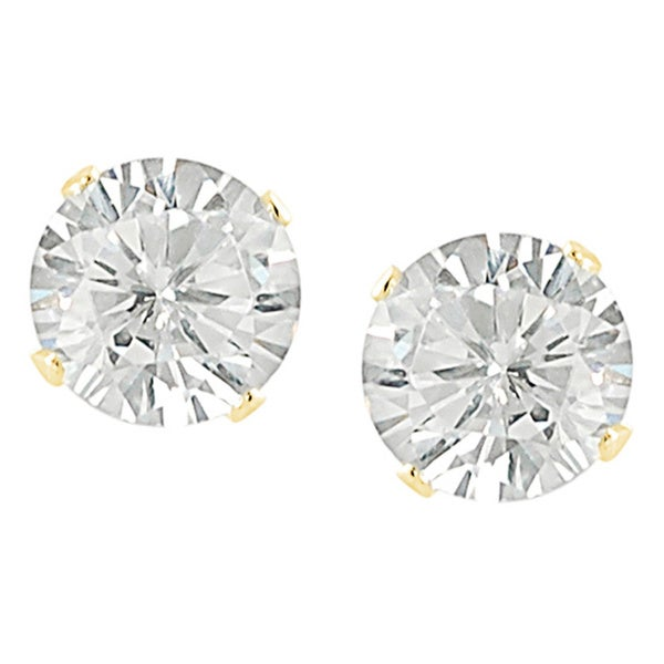 Journee Collection Cubic Zirconia 5-mm Round Stud Earrings