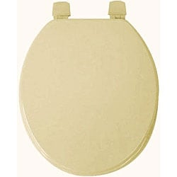 Bone Molded Wood Solid Toilet Seat