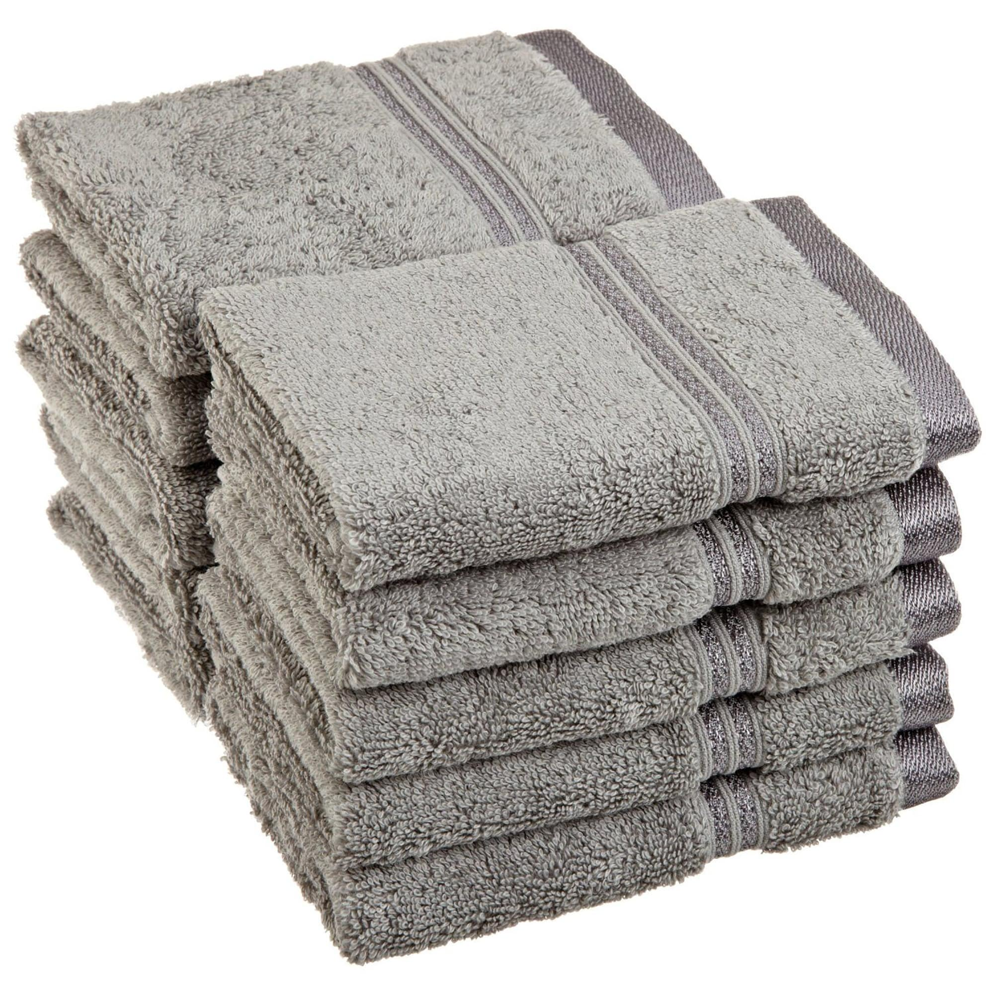 Luxurious Egyptian Cotton Face Cloth Towels (Set of 10) at Sears.com