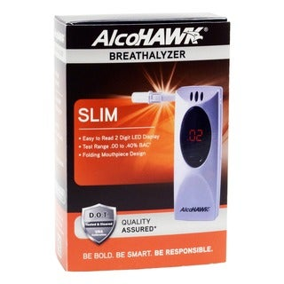 Alcohawk Q3i-2500 Slim Digital Breath Alcohol (Tester)