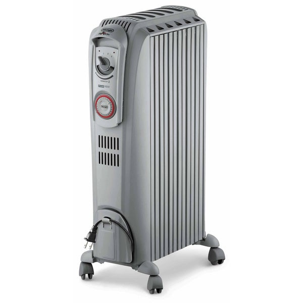 DeLonghi TRD0715T Oil-filled 6-fin Electric Radiant Heater