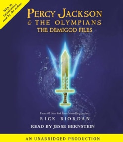Percy Jackson & The Olympians: The Demigod Files (CD-Audio)