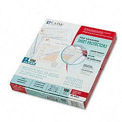 Sheet Protectors for 8.5x11-inch Inserts (Case of 100)