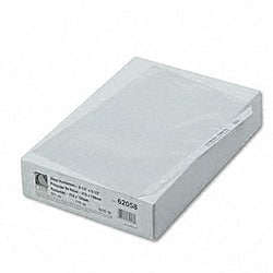 Sheet Protectors for 8.5x5.5-inch Inserts (Case of 50)