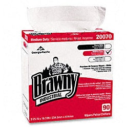 Brawny Industrial Premium DRC Wipers (Pack of 90)
