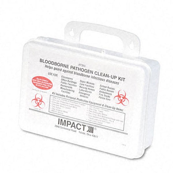 Blood Borne Pathogen Clean-up Kit in Plastic Case