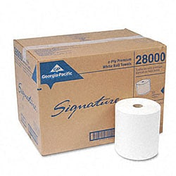 Signature 2-ply Roll Towels (Pack of 12)