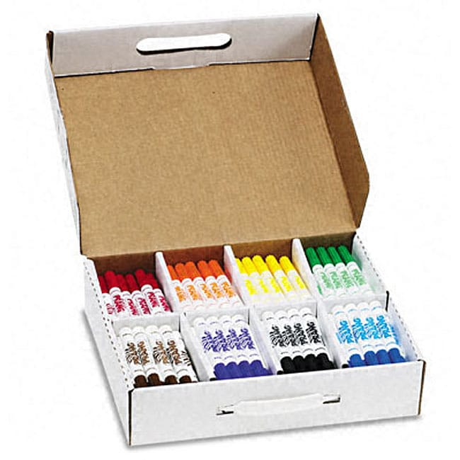 School Pack Prang Washable Markers (Box of 200)