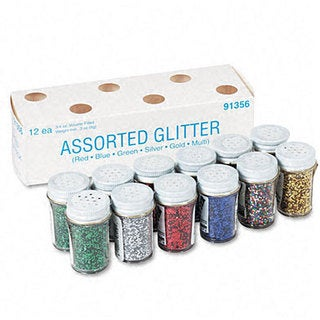 Spectra Glitter 6-color Assortment (Pack of 12)