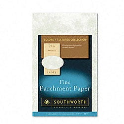 Colors+Textures Ivory Parchment Paper (Box of 500)