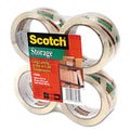 Scotch Premium Mailing and Storage Tape (Pack of 4)
