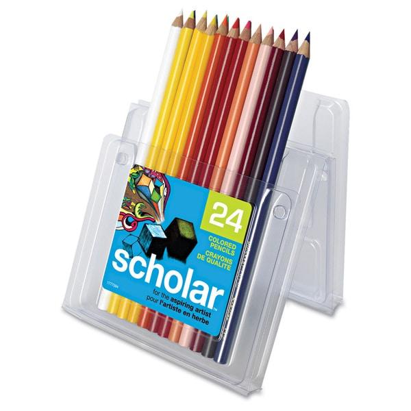Prismacolor Scholar 24-piece Colored Pencil Set