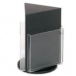 Deflecto Countertop 3-pocket Magazine Rack