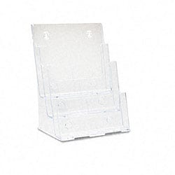 Deflecto Three-tier Multi-Pocket Clear Docuholder