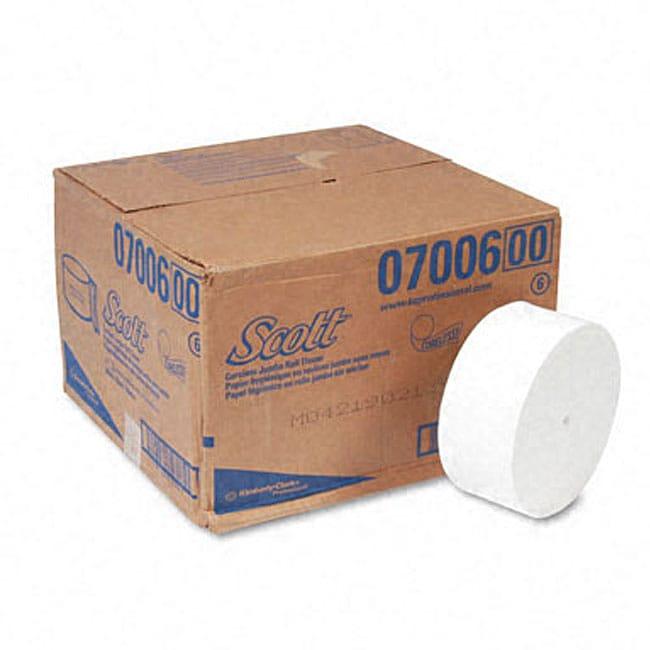 Scott Coreless JRT Junior Roll Bathroom Tissue (Pack of 12)