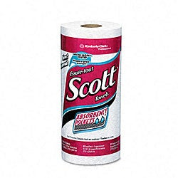 Professional-Grade Scott Perforated Towel Rolls (Pack of 16)