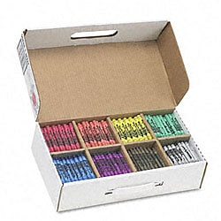 Prang Wax Crayons (Box of 800)