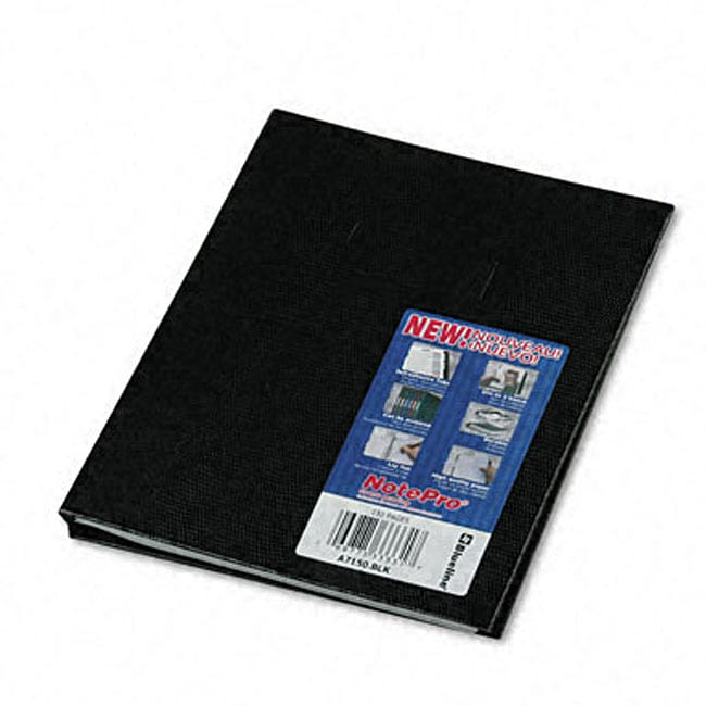 NotePro Plain-ruled Hardcover Notebook