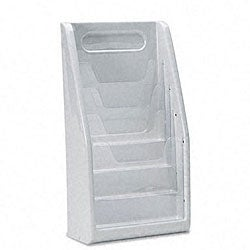 Deflecto Multi-tiered Magazine Holder