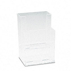 Deflecto Clear Multi-compartment Docuholder