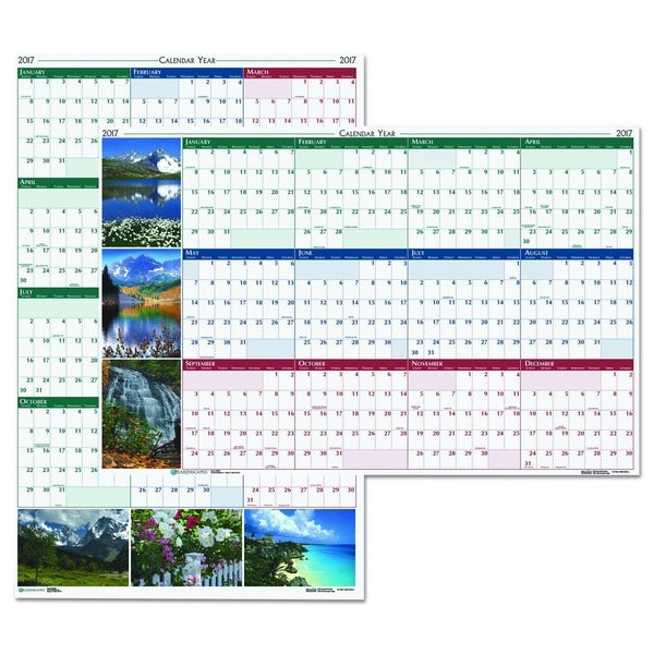 Earthscapes Yearly Wall Calendar