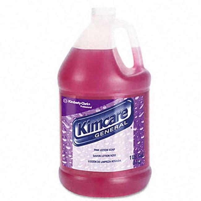 Kimberly-Clark Kimcare Pink Lotion Soap (1 Gallon)