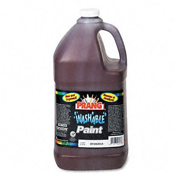 Prang Brown Washable Paint