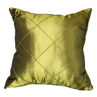 Green Diamond Patterned Cushion Cover