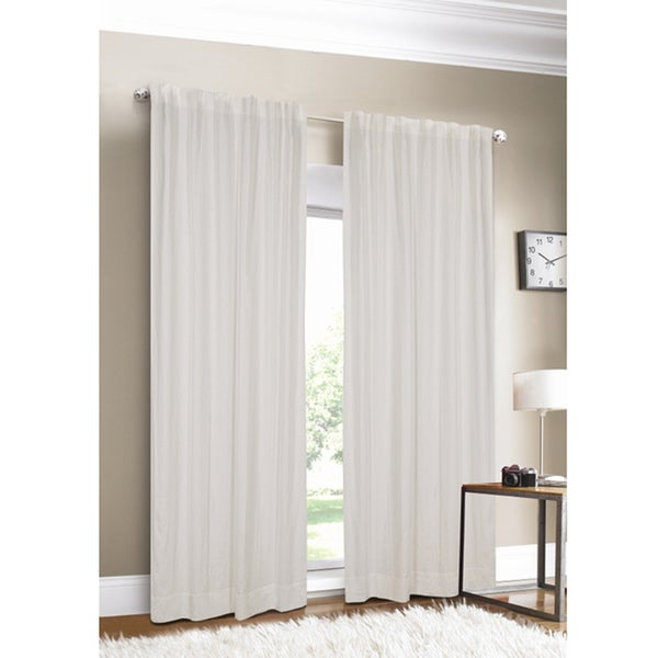 ... Lined Curtain Panel - Overstock Shopping - Great Deals on Curtains