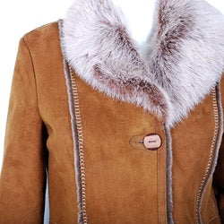 Spanish Merino Women's Shearling Coat