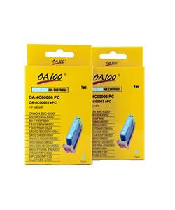 Cyan Photo Ink Cartridge for Canon BCI-6PC (Pack of 2)