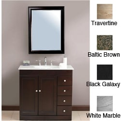 Madara 36-inch Single Sink Bathroom Vanity | Overstock.com