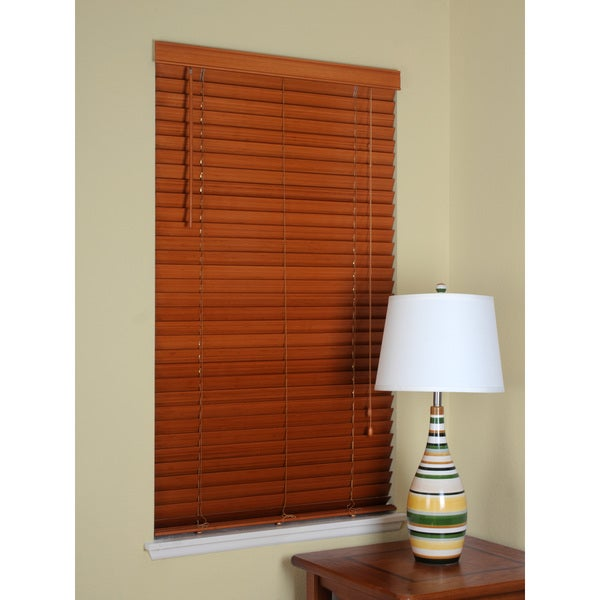 bamboo 2 inch blind 18 in x 72 in overstock shopping