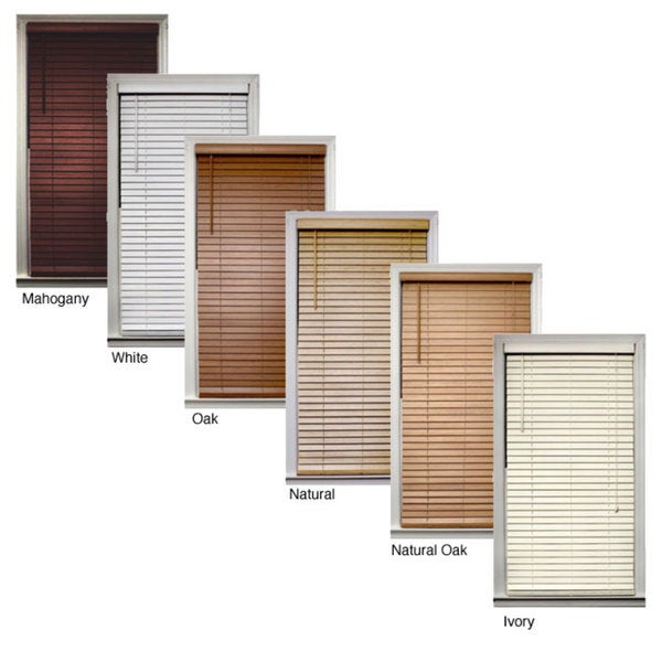 Bamboo 2-inch Window Blinds (35 in. x 64 in.)