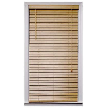 Natural Bamboo Blind (47 in. x 64 in.)