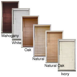 Bamboo 2-inch Window Blinds (65 in. x 72 in.)