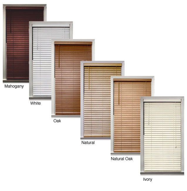 Bamboo 2-inch Blinds (75 in. x 72 in.)