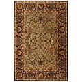 Safavieh Handmade Heritage Traditional Blue/ Red Wool Rug (8'3 x 11')