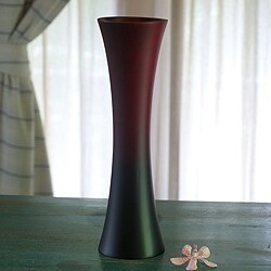 Mango Wood 'Dark to Light' Vase (Thailand)