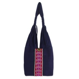 Cotton 'Rose River' Handbag (Thailand)