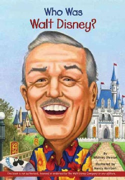 Who Was Walt Disney? (Paperback)