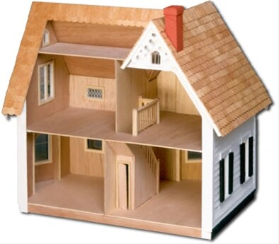 The Westville Dollhouse Kit