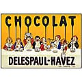 'Chocolate Delespaul Havez' Canvas Art