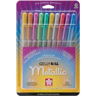 Sakura Metallic Gelly Roll Pens (Pack of 10)
